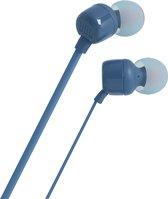 Afbeelding van JBL T110 Blauw - In-ear oordopjes