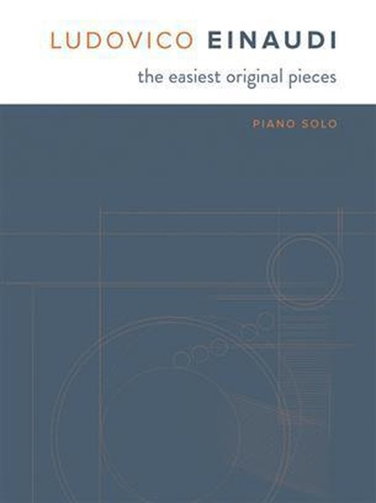 Boek cover The Easiest Original Pieces van Ludovico Einaudi (Hardcover)