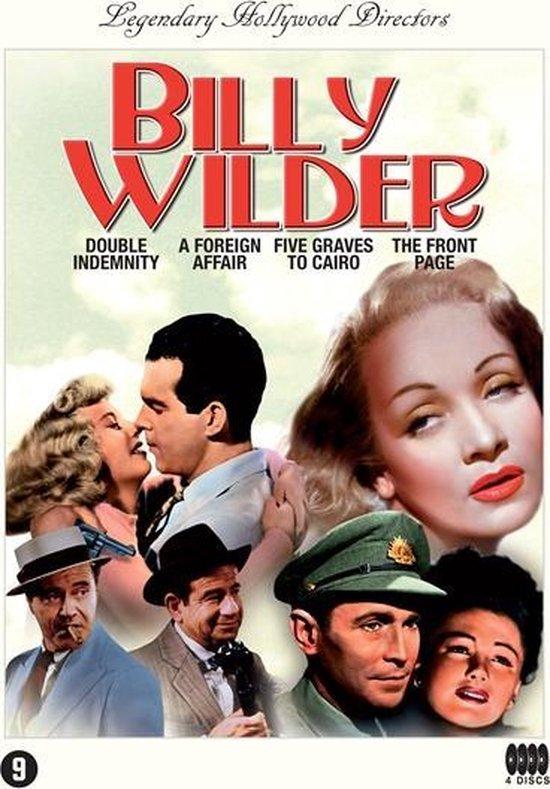 Cover van de film 'Billy Wilder Box'