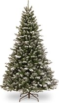 Kunstkerstboom Snowy Sheffield Spruce Hinged Tree 198cm