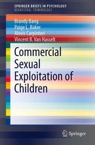 Omslag Commercial Sexual Exploitation of Children