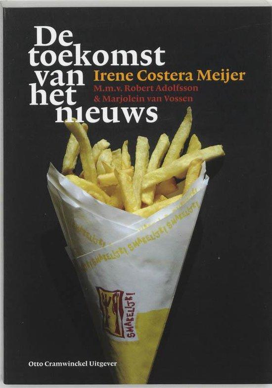 Cover van het boek 'De toekomst van het nieuws / druk 1'