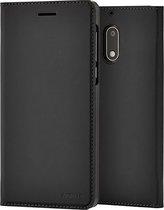 Nokia Slim Flip Case - zwart - voor Nokia 6