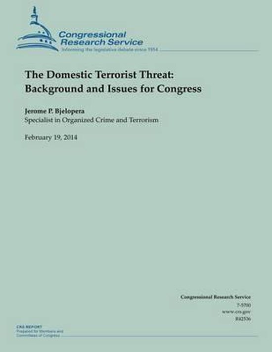 The Domestic Terrorist Threat