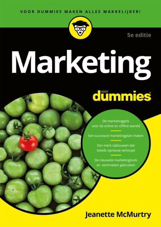 Marketing voor dummies - Jeanette Mcmurtry |