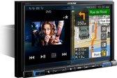 """Alpine X801D-U navigator 20,3 cm (8"""") Touchscreen Vast Zwart"""