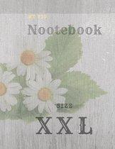 My Big Notebook, Size XXL