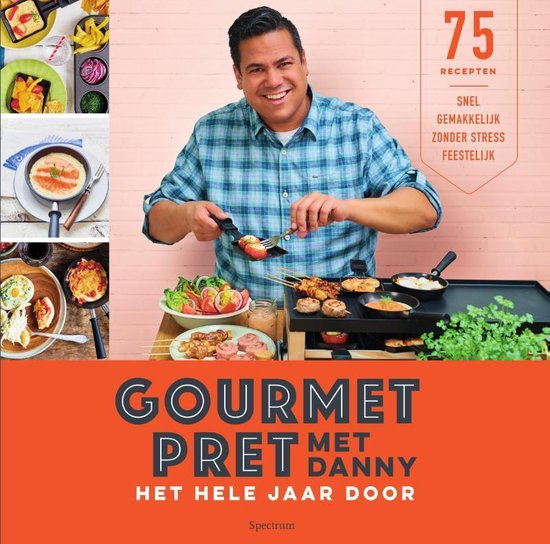 Boek cover Gourmetpret met Danny van Danny Jansen (Paperback)