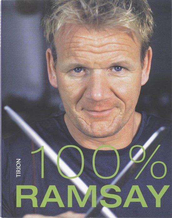 Cover van het boek '100% Ramsay' van Gordon Ramsay
