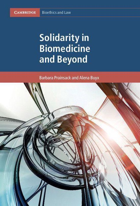 Boek cover Solidarity in Biomedicine and Beyond van Barbara Prainsack (Onbekend)