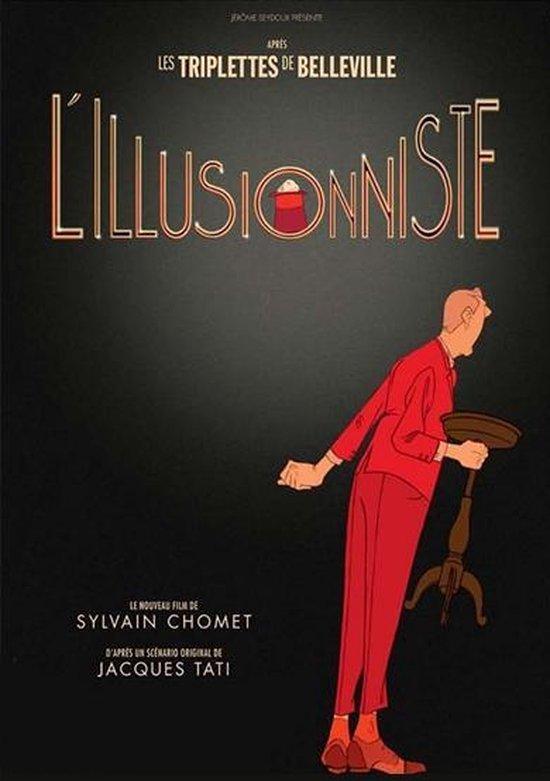 Cover van de film 'Illusionist'