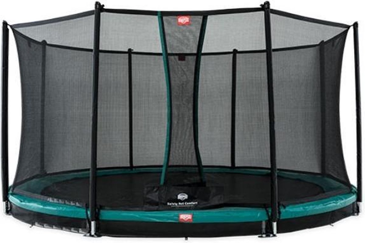 BERG trampoline Favorit Inground 380 + Safety Net Comfort