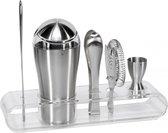 WMF Cocktail Shaker Set Loft Bar 6-delig - RVS