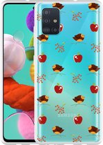 Samsung Galaxy A51 Hoesje Apples and Birds