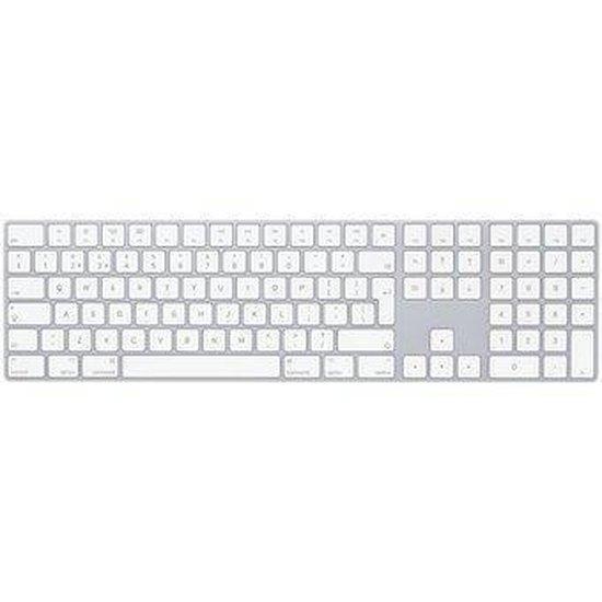 Apple Magic Keyboard met numeriek toetsenblok - Zilver