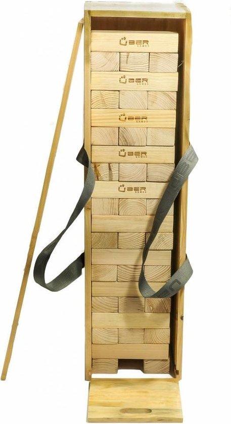 Afbeelding van het spel Stapeltoren Crib - tot 150 cm hoog - Luxe Kist India's Pine-hout