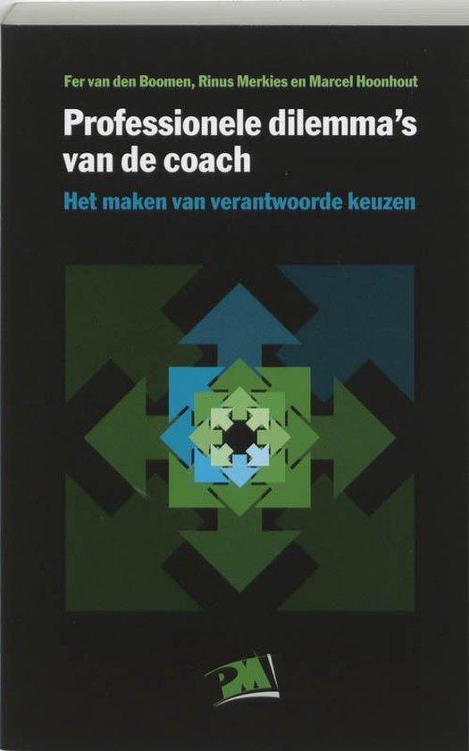 PM-reeks - Professionele dilemma's van de coach - F. van den Boomen  