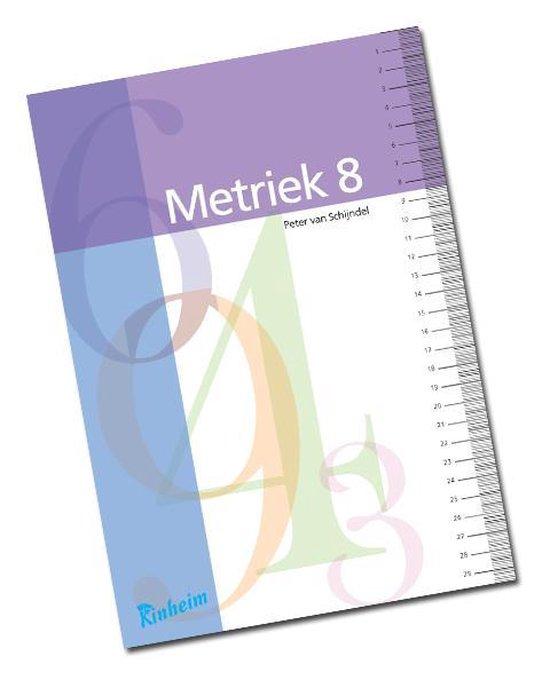 Blokboek Metriek 8 - none |