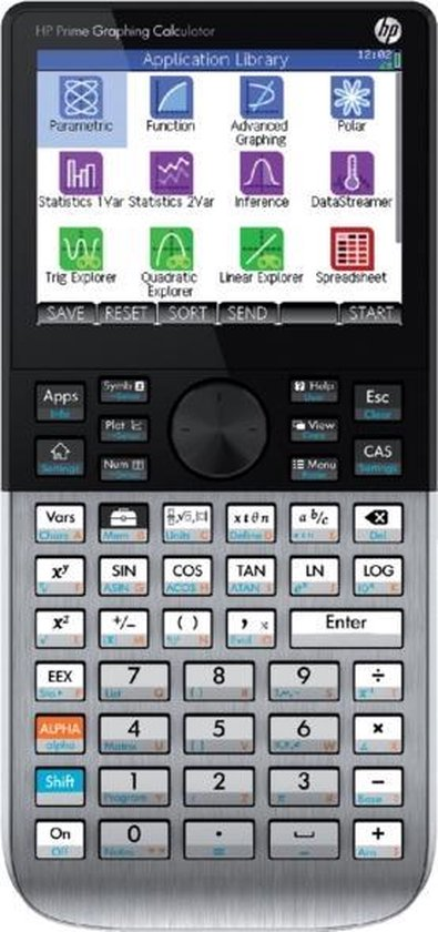 Afbeelding van HP Prime - Grafische Rekenmachine