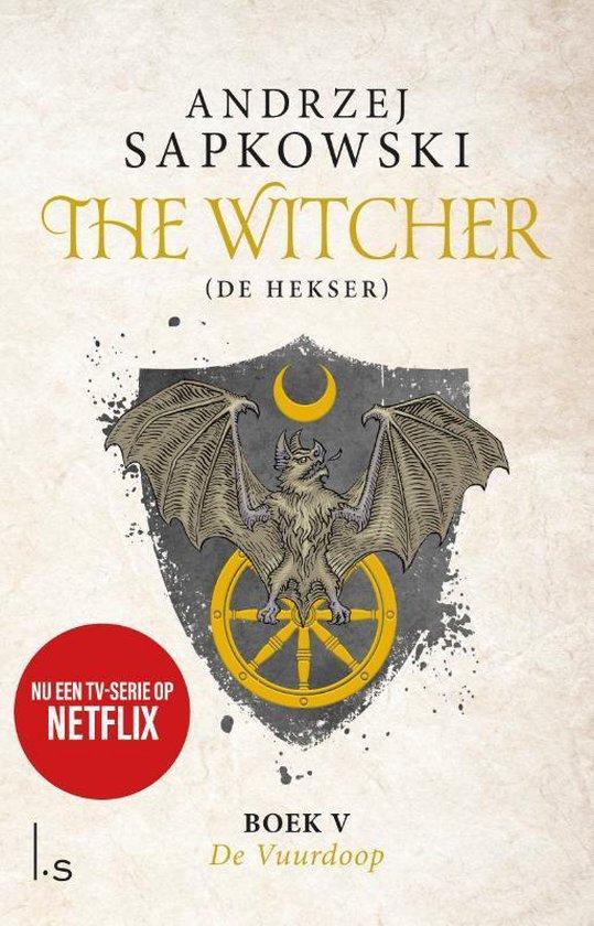 Boek cover The Witcher 5 - The Witcher - De Vuurdoop van Andrzej Sapkowski (Paperback)