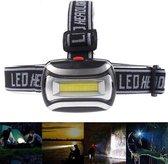 Hoofdlamp LED Waterdicht – 600 Lumen - Werkt op 3x AAA batterijen - Voor Hardlopen, Camping, V