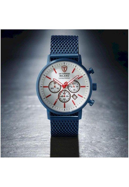 - orologio da polso da uomo detomaso milano xl cronografo, analogico, al quarzo, cassa in acciaio inox DT1082-A-861