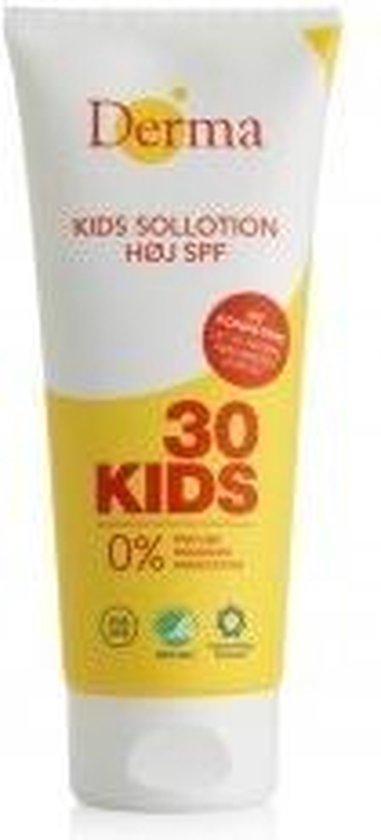 Derma Zonnebrand Sun Lotion Kids Factor(spf)30