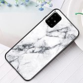 Samsung Galaxy A51 Hoesje - Marble Glass Cover