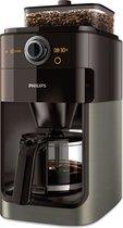 Philips Grind & Brew HD7768/80 - Koffiezetapparaat - Zwart/Grijs