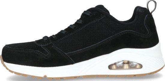 Skechers Uno - Two For The Show Sneakers Maat 41 Vrouwen Zwart RSCWON