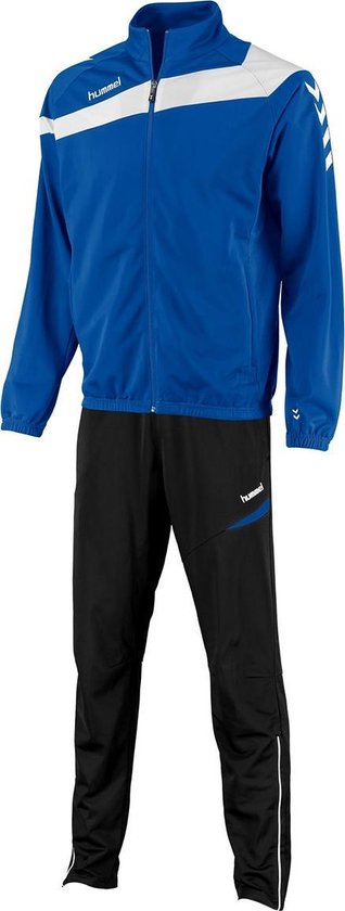hummel Elite Poly Suit Trainingspak - Blauw - Maat M