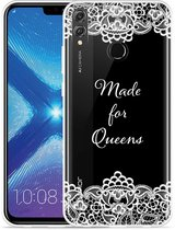 Honor 8X Hoesje Made for queens