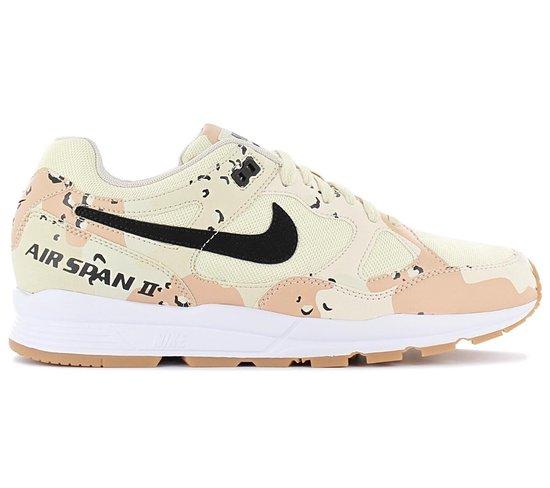 Nike Air Span II PRM Premium - Desert Camo - Heren Sneakers Sportschoenen Schoenen AO1546-200 - Maat EU 42 US 8.5