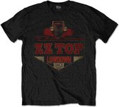ZZ Top Heren Tshirt -L- Lowdown Zwart