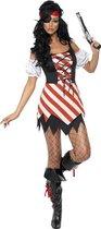Piratenkostuum voor dames- Piraat Verkleedkleding maat 40/42