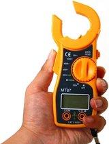 Multimeter met Ampere Tang Inclusief 2 x AAA Duracell batterijen