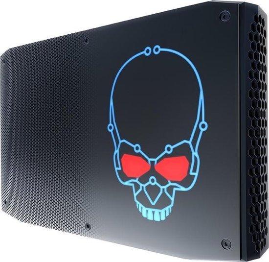Intel NUC BOXNUC8I7HVK2 PC/workstation barebone 1,2L maat pc Zwart BGA 2270 i7-8809G 3,1 GHz