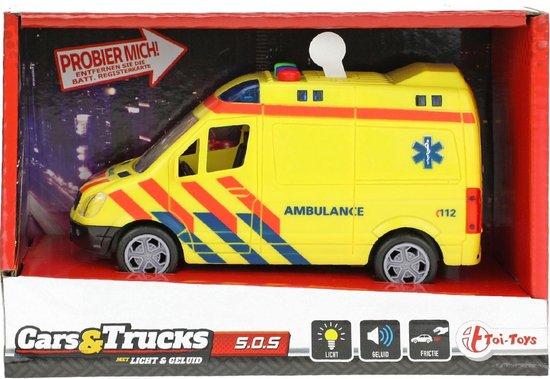 Afbeelding van Ambulance met Licht en Geluid speelgoed
