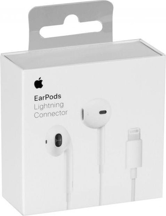 Afbeelding van Apple EarPods - met lightning connector - wit