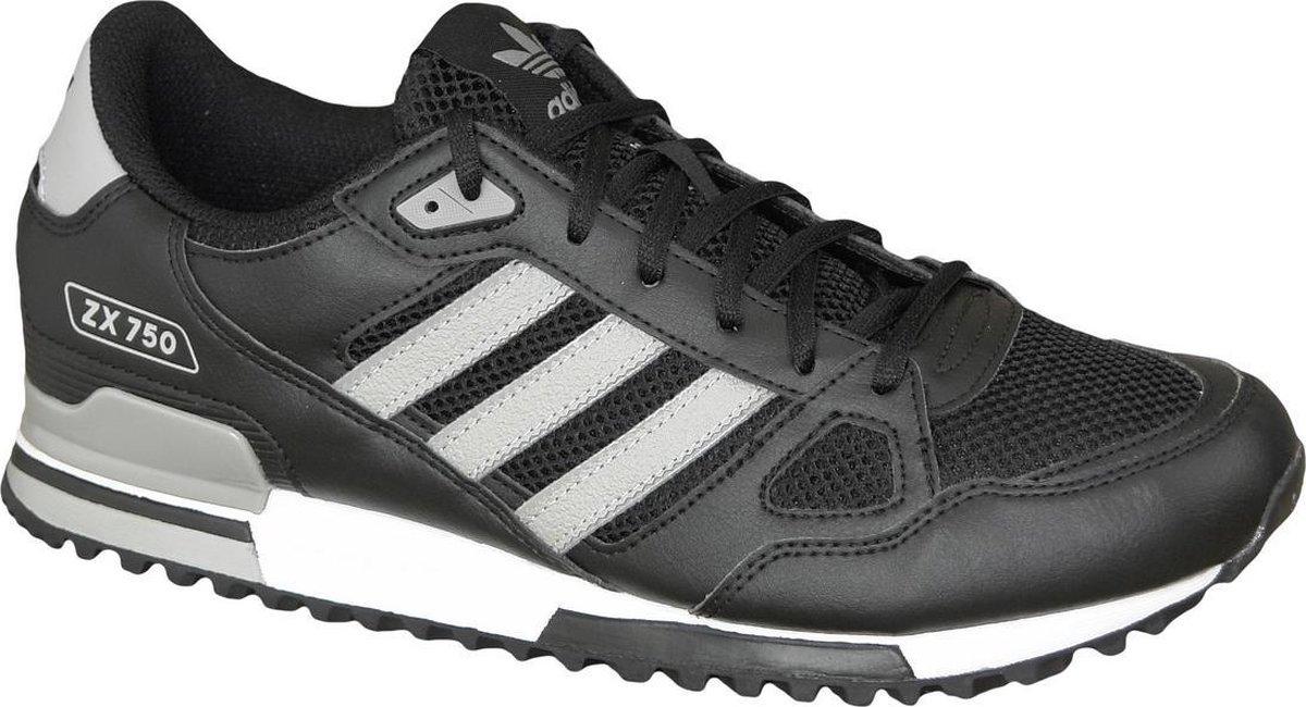 adidas ZX 750 Sneakers - Maat 46 - Mannen - zwart/grijs