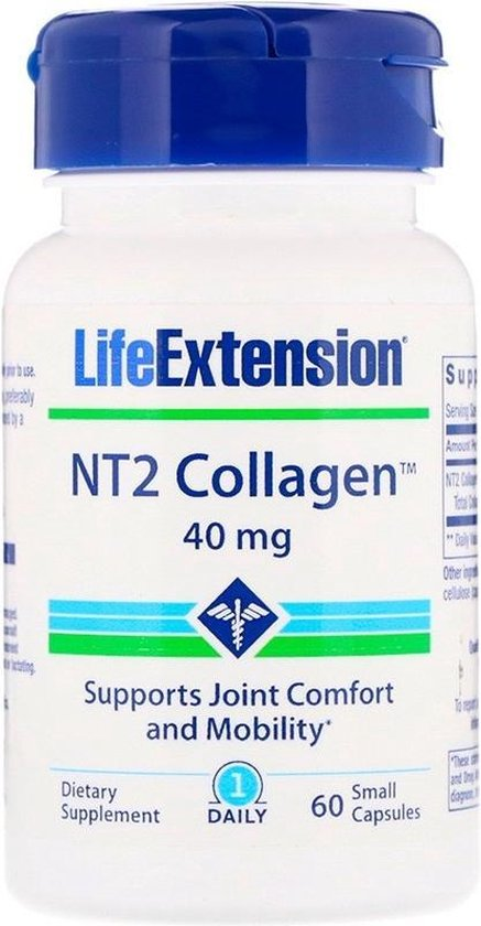NT2 Collagen, 40 Mg, 60 Small Capsules