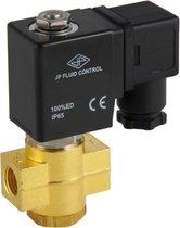 Magneetventiel ST-DB 1/4'' NO messing FKM 0-12bar 24V DC - ST-DB014B030F-024DC