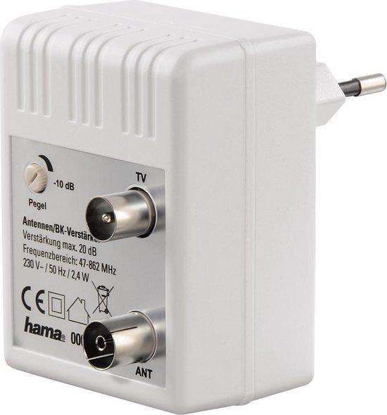 Hama BK/CATV-versterker, 20 dB, regelbaar