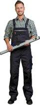 Werk tuinbroek grijs/blauw maat 48