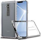 Huawei Mate 20 Lite Schokbestendig TPU Hoesje Transparant