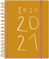 Paper Poetry Planner 2020-2021 - Nature Matters - Mosterdgeel