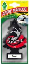 Arbre Magique Luchtverfrisser 12 X 7 Cm Sport  Zwart