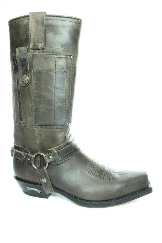 Sendra 3604- Graffiet- Biker een Western boots- extra pocket op rechter laars- Stevig leer-maat 42