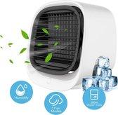 Mini Draagbare Air Cooler Op Water - Ventilator - Lucht Verkoeling - Waterkoeler - Bureau Ventilator - Aircooler