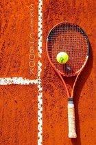 Tennis Racket Sketchbook: Sketchpad